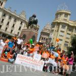 Imparables de Córdoba, ni la calor los para en la lucha de concienciar.